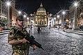 Italian Army - 2nd Engineer Regiment patrolling the Via della Conciliazione in Rome.jpg