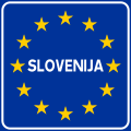 Italian traffic signs - confine slovenia.svg