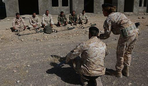 Italy Peshmerga IED training Erbil September 2016