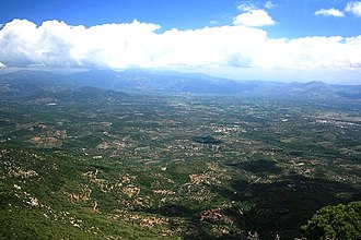 Messenia - Messenia from Mt. Ithome