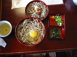 Izumo, Shimane - Izumo soba, unique to Izumo
