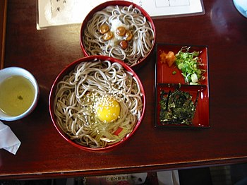 Izumo soba, a variety of soba named after Izum...