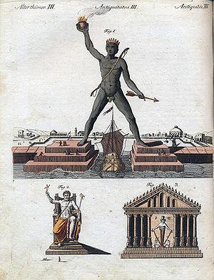 Friedrich Justin Bertuch - Image: J.F.Bertuch 7Weltwunder