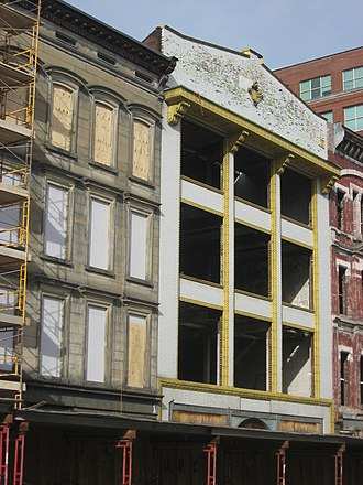 Whiskey Row, Louisville - Image: J.T.S. Brown and Son's Complex