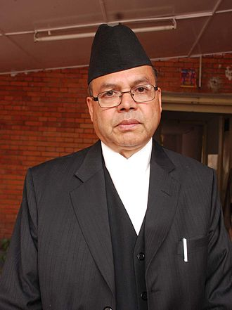 Communist Party of Nepal (Unified Marxist–Leninist) - Jhala Nath Khanal: former party chairman and Prime Minister