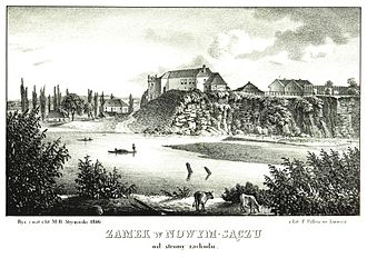 Nowy Sącz - Nowy Sącz in the 1840s