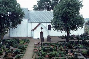 Jelling stones - Jelling Church