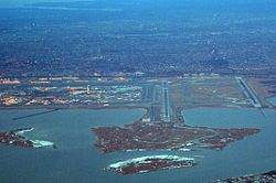JFK AIRPORT FROM A310 CSA OK-WAA FLIGHT JFK-PRG (16217633877).jpg