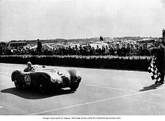 Peter Whitehead 1951 in Le Mans