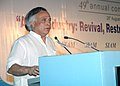 "Jairam Ramesh delivering the keynote address on ""Sustainability-Role of Collaborative Working"" Auto Industry Revival, Restructuring and Sustainable Growth, in New Delhi on August 28, 2009.jpg"