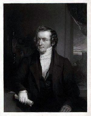 James Raine - James Raine c. 1852, as depicted by William Walker