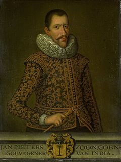 Jan Pieterszoon Coen Dutch colonial governor