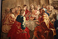 Jan raes e manifattura fiamminga, arazzo su cartone di rubens con l'istituzione dell'eucarestia, 1632-50 circa (da museo diocesano di ancona) 01.JPG