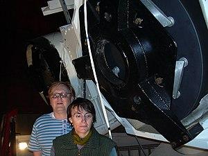 Kleť Observatory - Image: Jana Tichá, Miloš Tichý and KLENOT