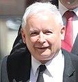 Jarosław Kaczyński przed wystąpieniem Prezydenta USA Donalda Trumpa w Polsce w Warszawie.jpg