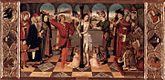 La Flagellation du Christ - Les quatre Symboles des Évangélistes