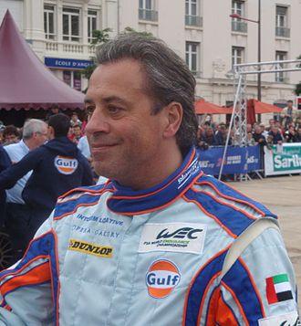 Jean-Denis Délétraz - Délétraz in 2012