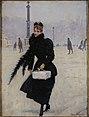 Jean Beraud, Parisienne place de la Concorde.jpg