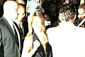 Jennifer Aniston Cameras Flashing on Red Carpet for Premiere of Management.jpg