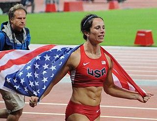 Jenn Suhr American pole vaulter