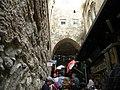 Jerusalem, Eigth Station of Via Dolorosa; 1-3000-2012 (3).jpg