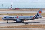 Jetstar Japan ,GK204 ,Airbus A320-232 ,JA13JJ ,Departed to Narita ,Kansai Airport (16179746774).jpg