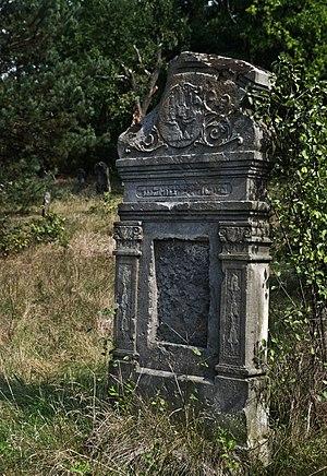 Przytyk pogrom - Image: Jewish cemetery Przytyk IMGP7871