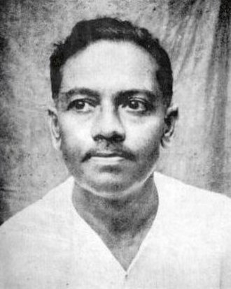 Jibanananda Das - The most widely used portrait of Jibanananda Das (date unknown).