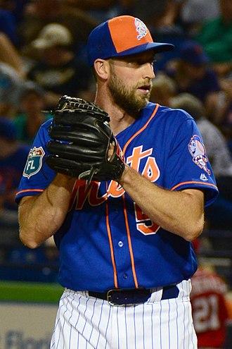 Jim Henderson (baseball) - Henderson with the New York Mets in 2016