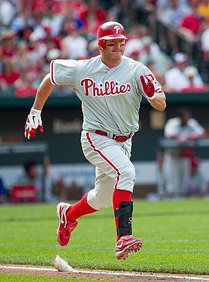 Jim Thome - In the latter part of his career, Thome ran at a slower rate, partly due to injury