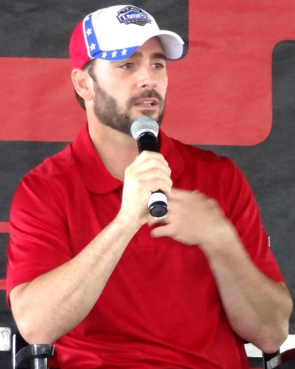 Jimmie Johnson, Richmond 2011 (cropped)