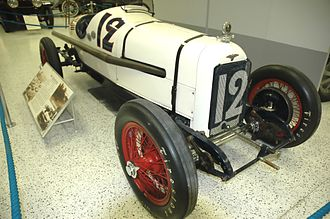 Jimmy Murphy (racing driver) - 1922 Indianapolis 500 and 1921 French Grand Prix winning car