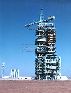 Jiuquan Satellite Launch Center tower.jpg