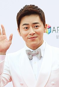 Jo Jung-suk on the red carpet of The Musical Awards, 3 June 2013 02.jpg