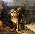 Joachim beuckelaer, isacco benedice il figlio giacobbe, 1568, 02 cane.jpg