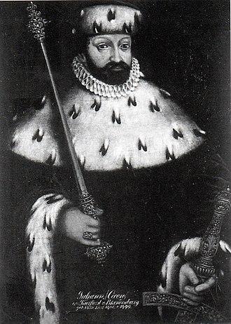 John Cicero, Elector of Brandenburg - John Cicero