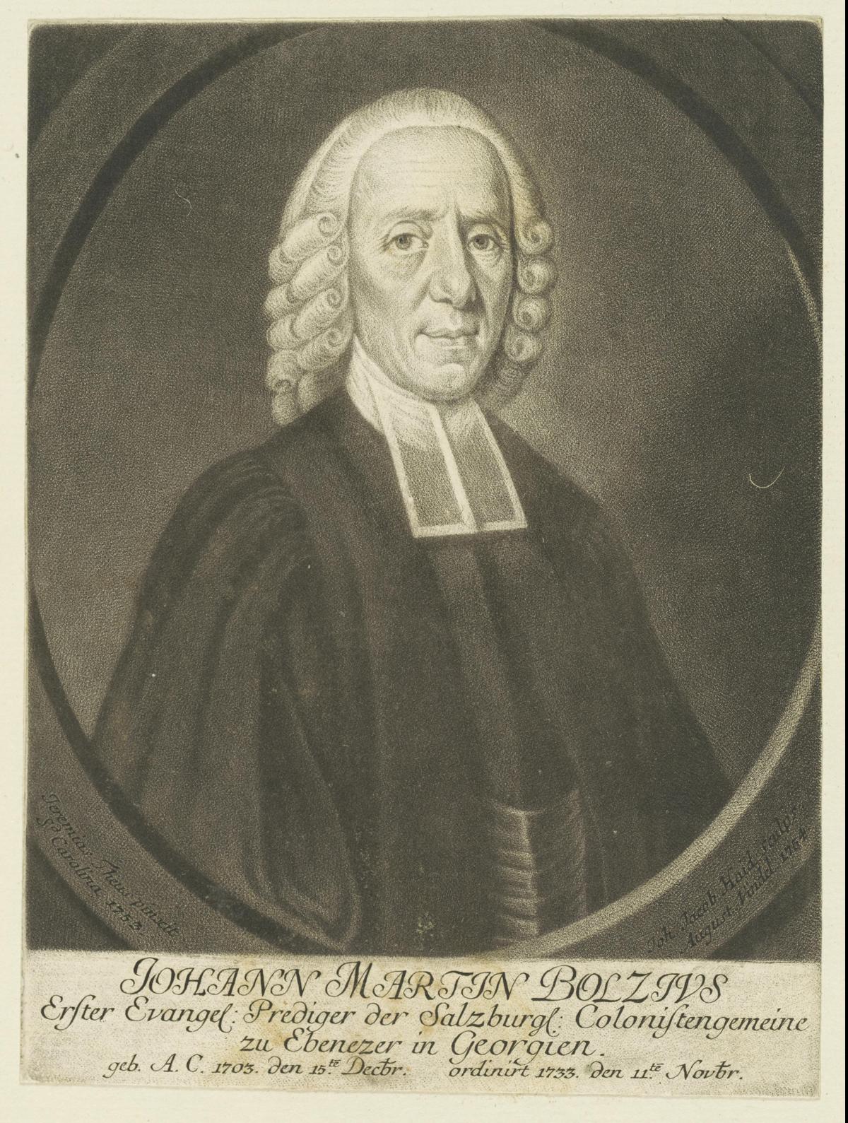 Johann Martin Boltzius –