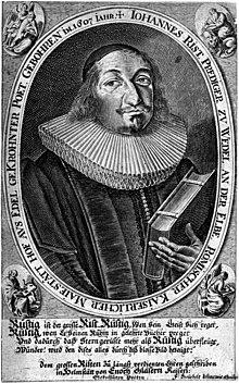 Johann Rist um 1651 (Quelle: Wikimedia)