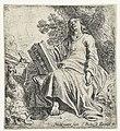 Johannes de evangelist op Patmos, RP-P-OB-4320.jpg
