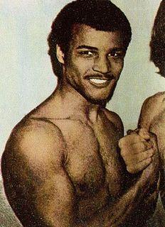 John Conteh British boxer