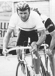 John Herety Road racing cyclist