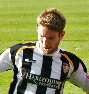 Port Vale F.C. Player of the Year - The 2011 winner, John McCombe.
