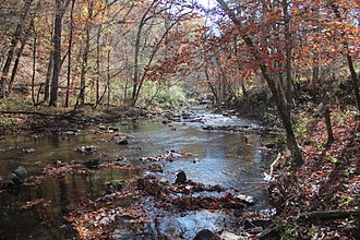 Johns Creek (Oostanaula River tributary) - Johns Creek in the Chattahoochee-Oconee National Forest