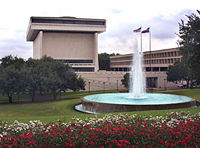 the LBJ School of Public Affairs and LBJ Presidential Library