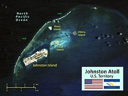 Map of Johnston Atoll