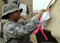 Joint Expeditionary Tasking Airmen process more than a billion dollars worth of vehicles, equipment DVIDS156243.jpg