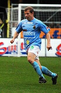 Jonas Lantto Swedish footballer