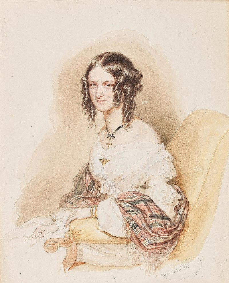 Josef Krieuber Frauenportrдt 1840.jpg