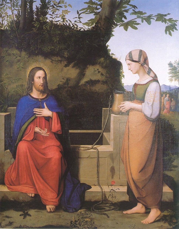 Josef von Hempel - Christus und die Samariterin