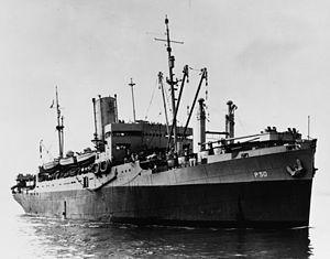 USS Joseph Hewes (AP-50) - Image: Joseph Hawes (AP 50)